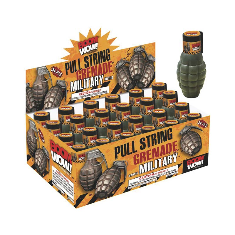 BW1114 - Pull String Military Grenade