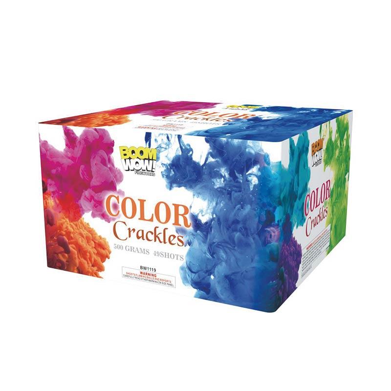 BW1119 - Color Crackles 49 Shot