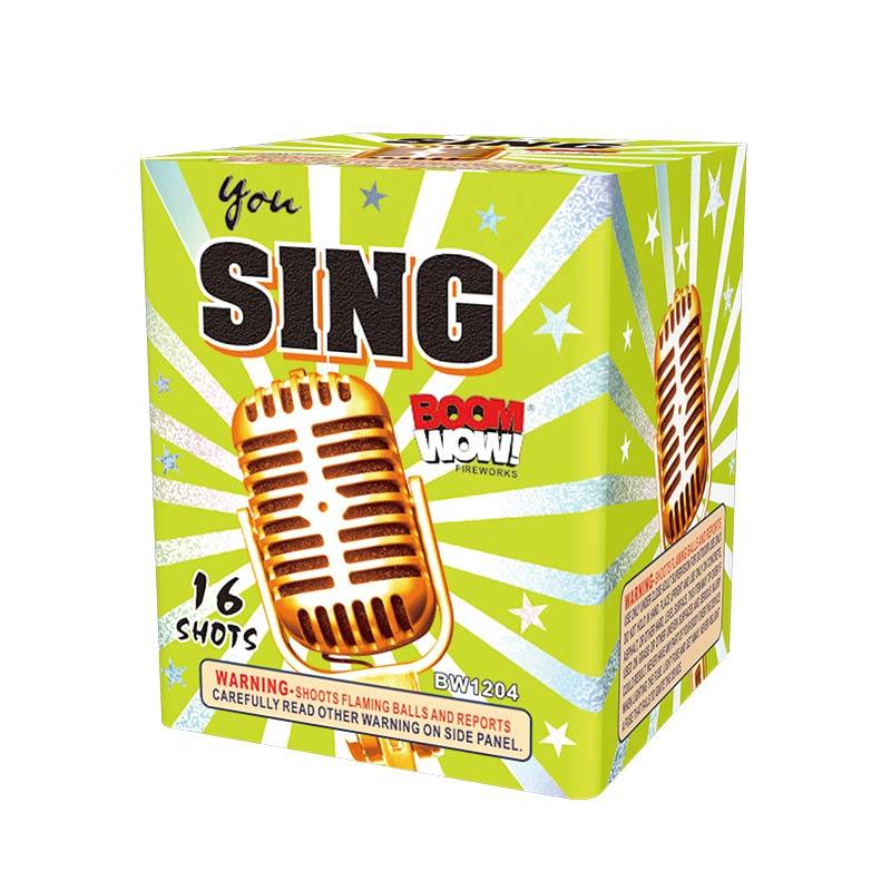BW1204 - You Sing 16 Shot