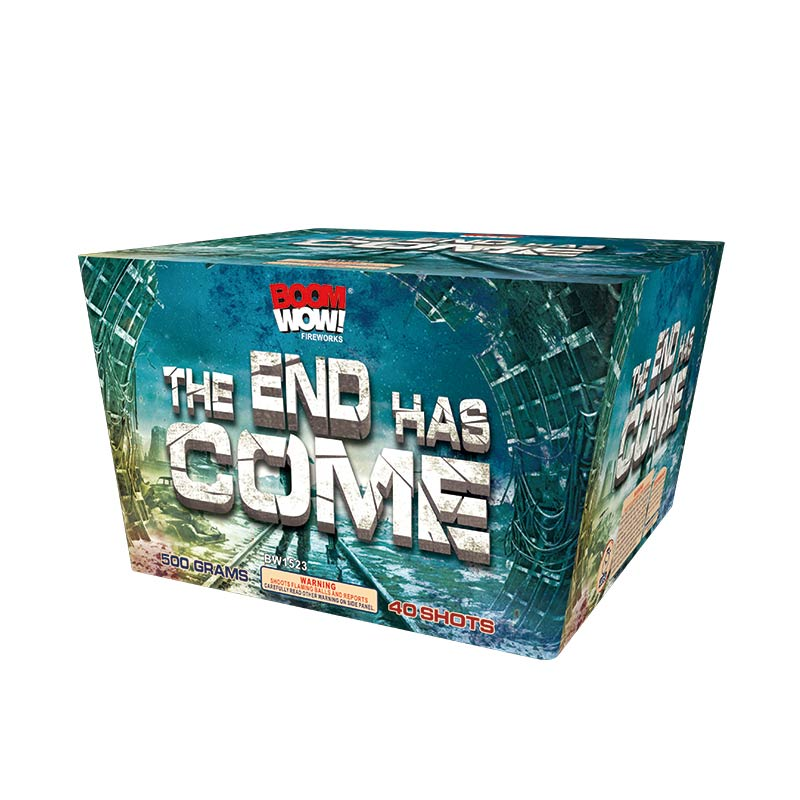 BW1523 - The End Has Come 40 Shot