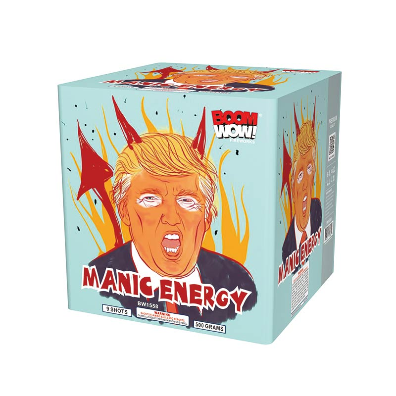BW1558 - Manic Energy 9 Shots