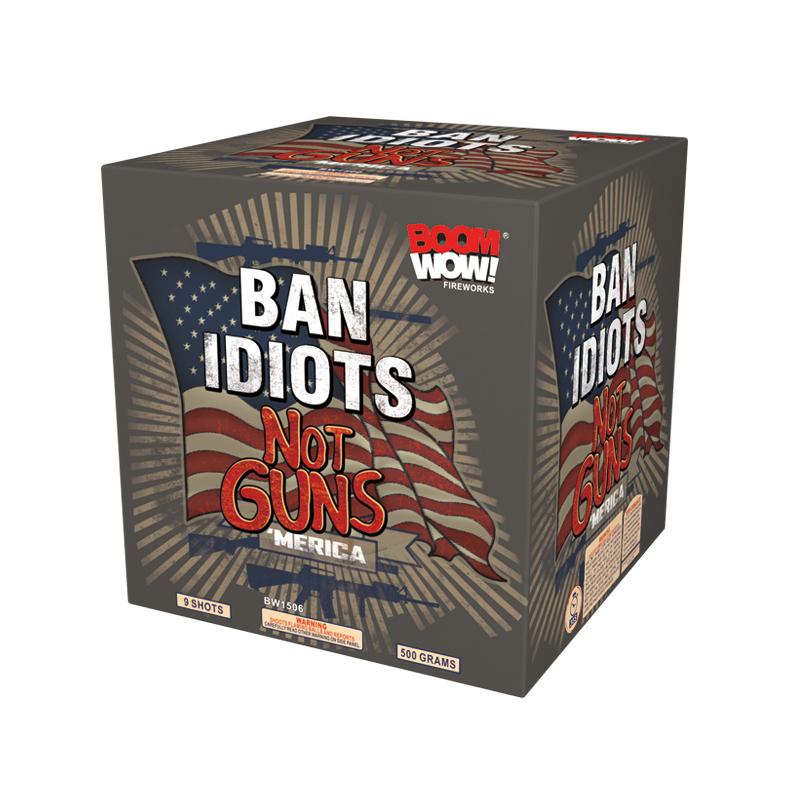 BW1506 - Ban Idiots Not Guns