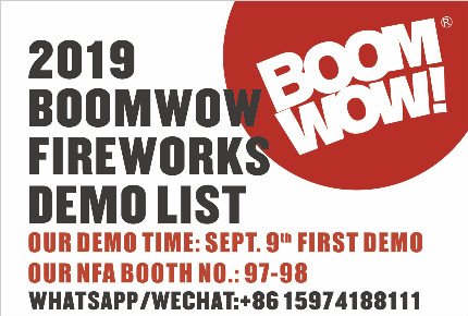 Boomwow Attended 2019 September NFA Convention in Branson MO