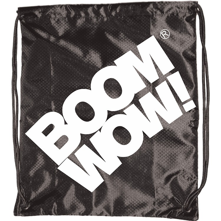 Boomwow VI drawstring storage bags for gym traveling